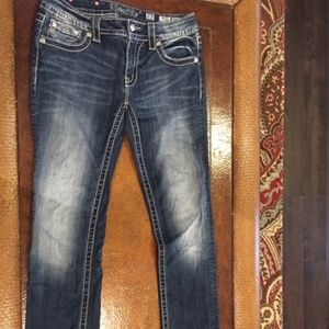 Miss Me Signature Straight Jeans Sz 29